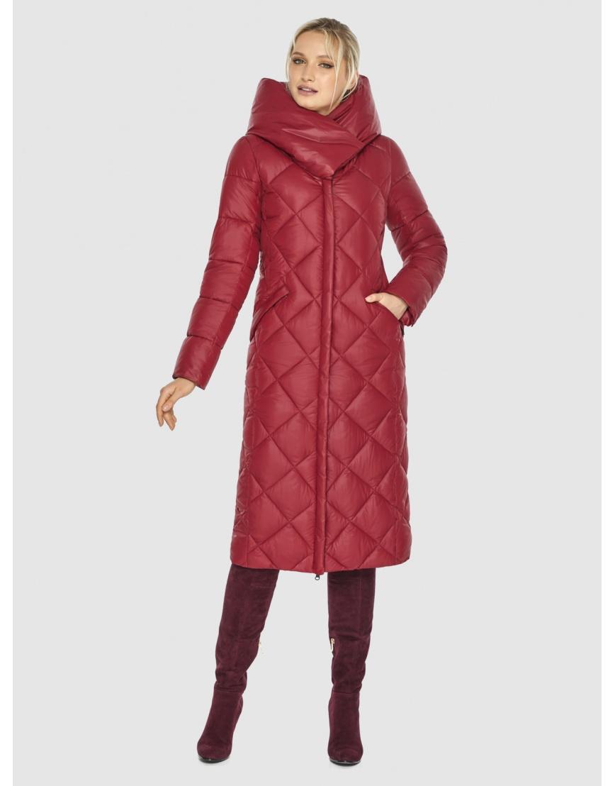 Красная куртка удобная Kiro Tokao женская 60074 фото 5