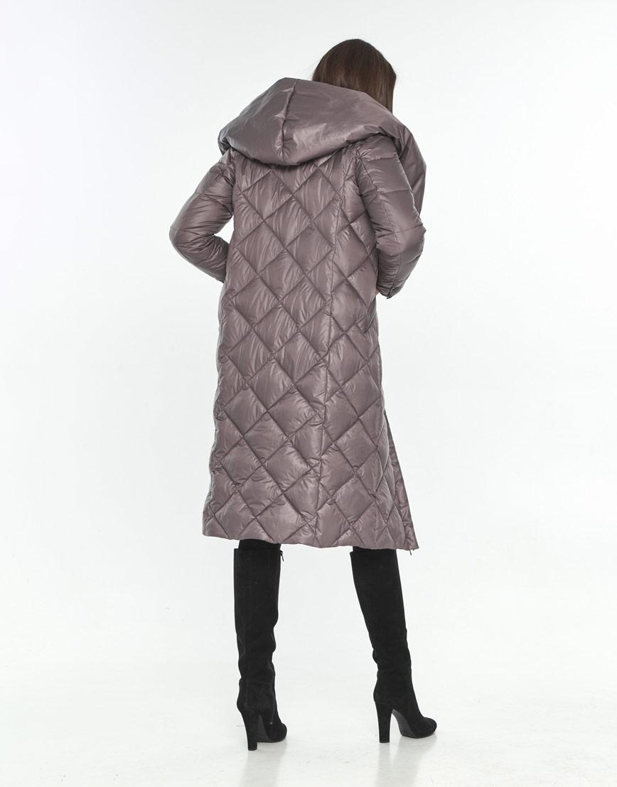 Куртка осенняя пудровая женская Wild Club удобная 594-37 фото 3