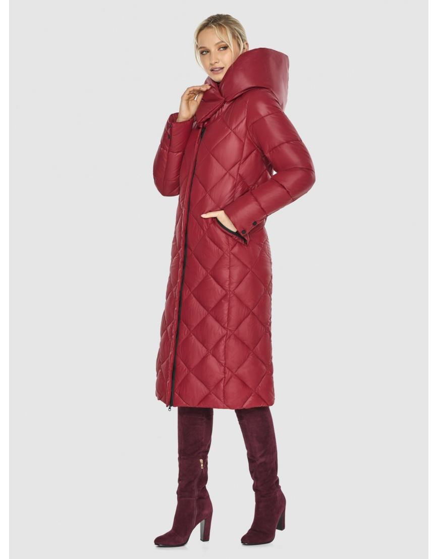 Красная куртка удобная Kiro Tokao женская 60074 фото 3