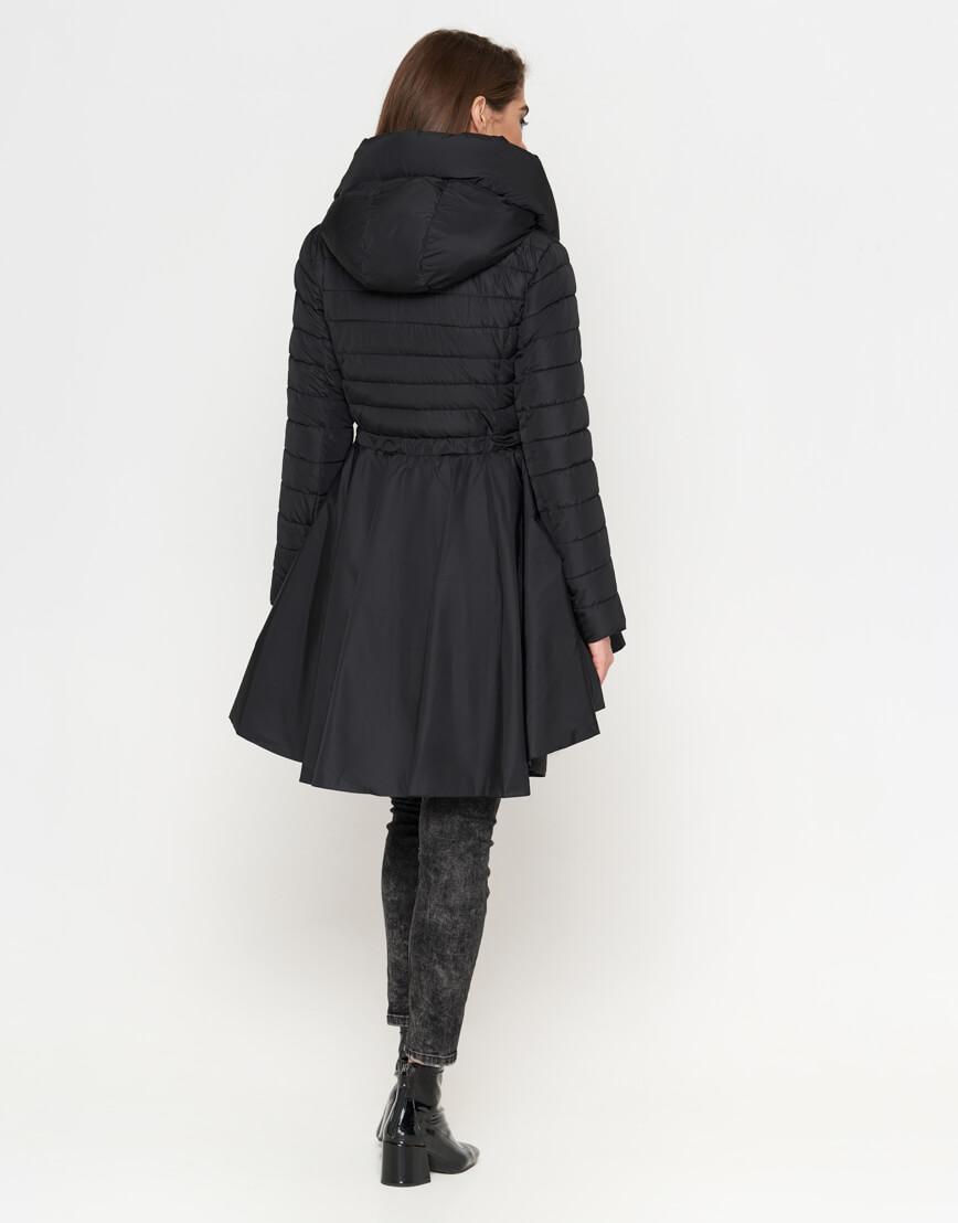 Куртка современная черная женская модель 25755 фото 3