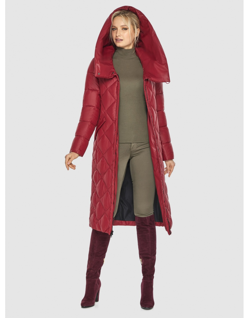 Красная куртка удобная Kiro Tokao женская 60074 фото 2