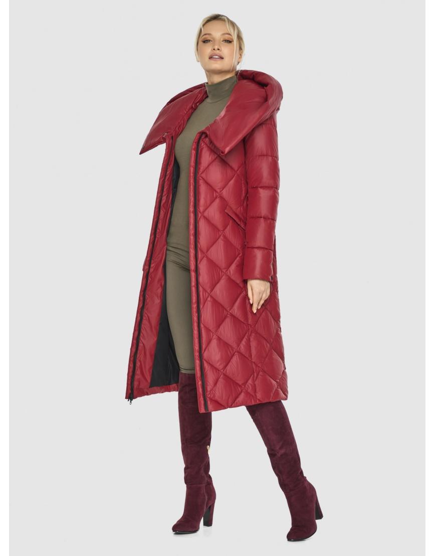 Красная куртка удобная Kiro Tokao женская 60074 фото 6