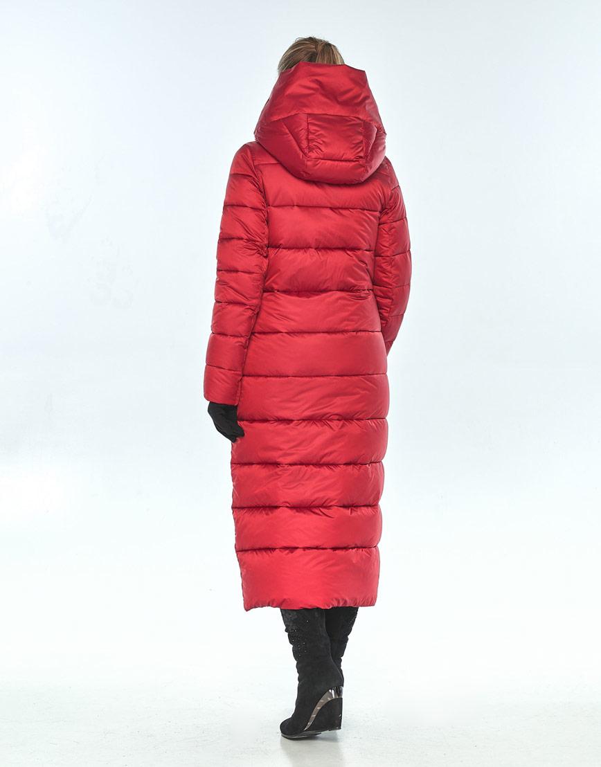 Яркая женская красная куртка Ajento зимняя 23046 фото 3