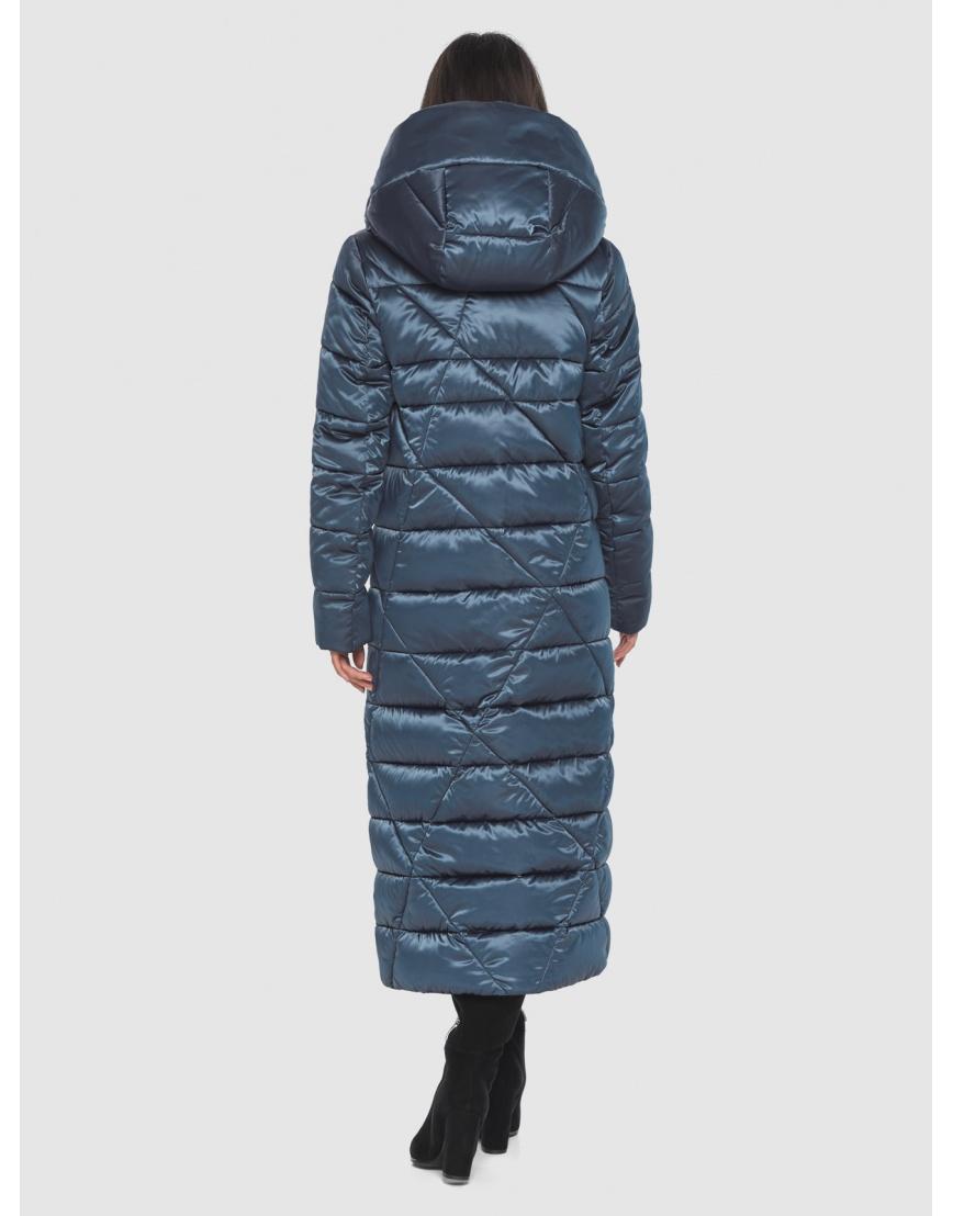 Зимняя модная куртка Moc на подростков синяя M6715 фото 4