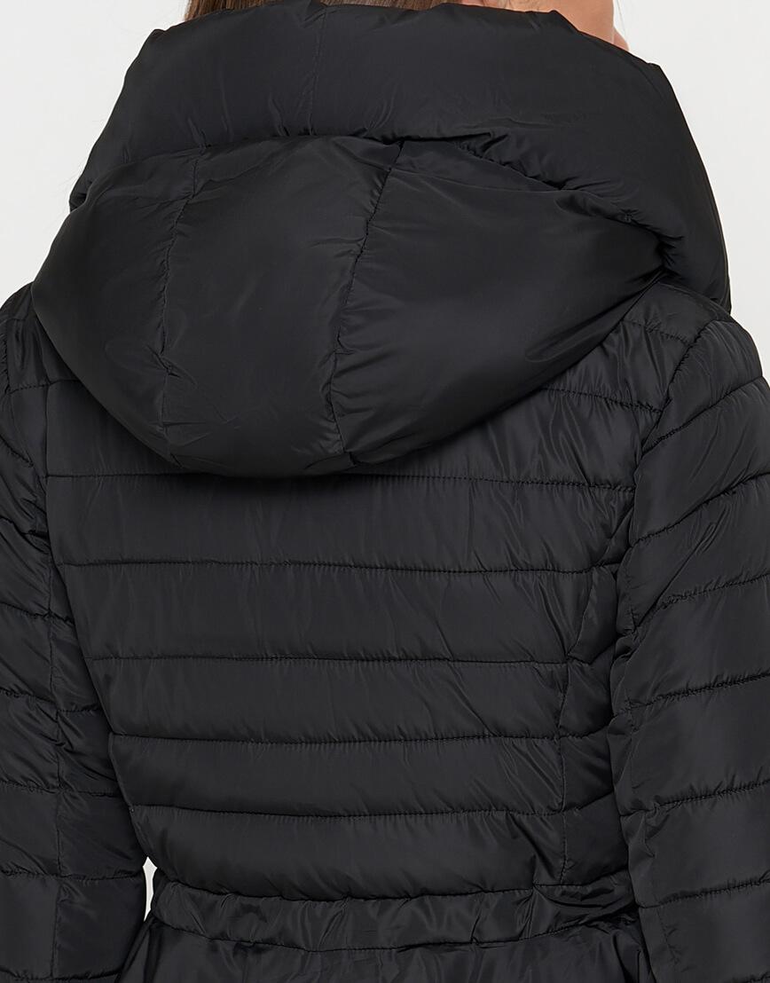 Куртка современная черная женская модель 25755 фото 5