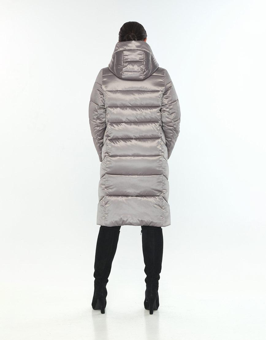 Длинная куртка кварцевая женская Wild Club 541-94 фото 3