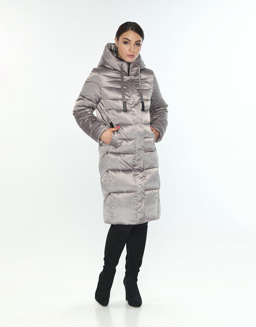 Длинная куртка кварцевая женская Wild Club 541-94 фото 1