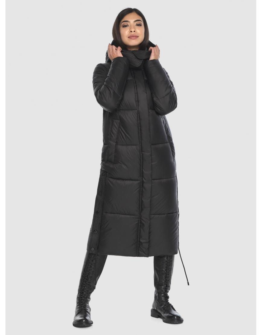 Модная куртка чёрная подростковая Moc на зиму M6874 фото 1