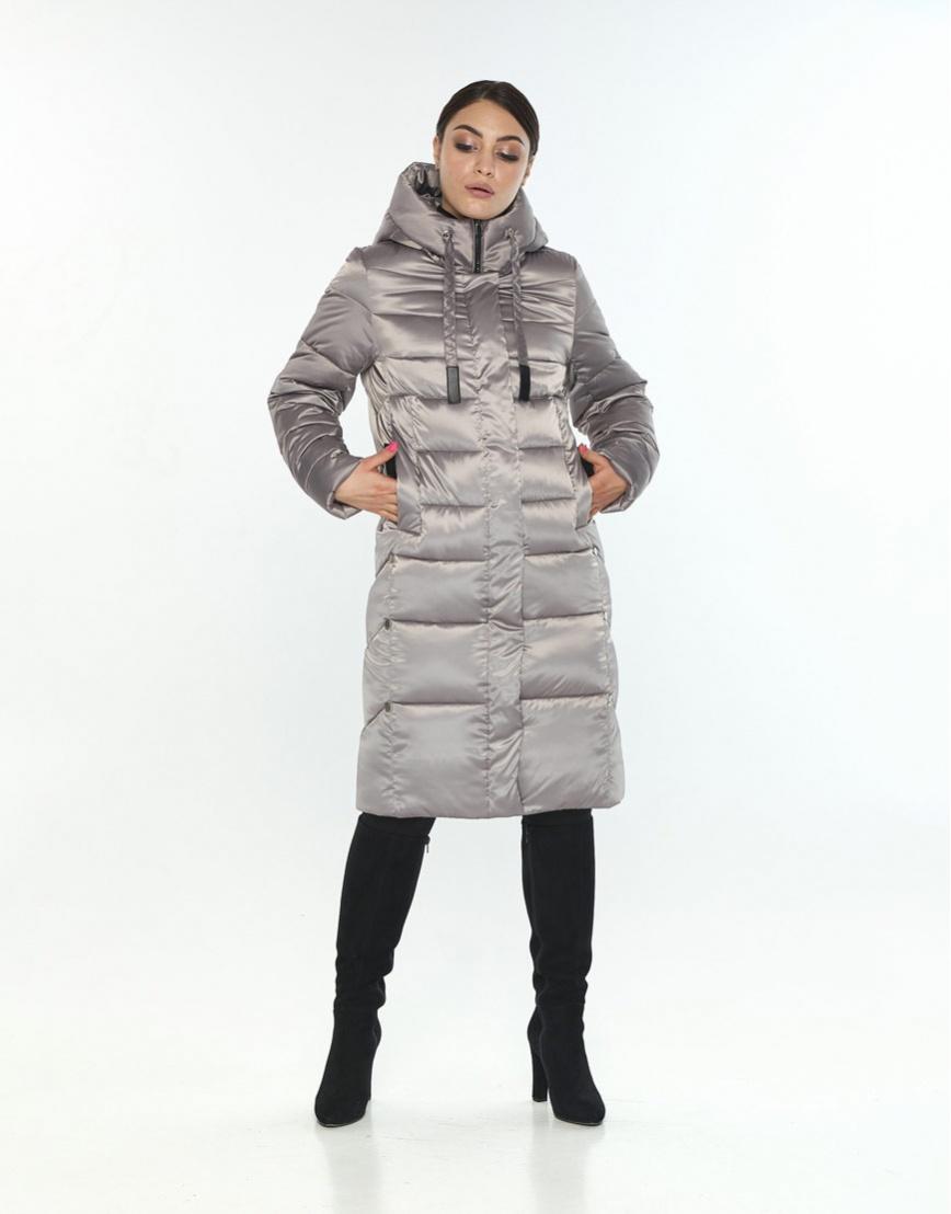 Длинная куртка кварцевая женская Wild Club 541-94 фото 2