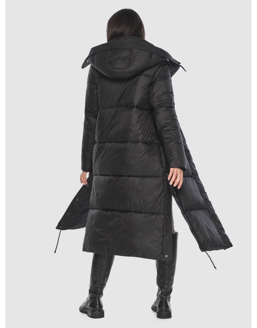 Модная куртка чёрная подростковая Moc на зиму M6874 фото 2