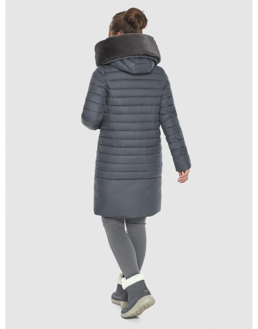 Серая куртка женская Ajento комфортная 24138 фото 4