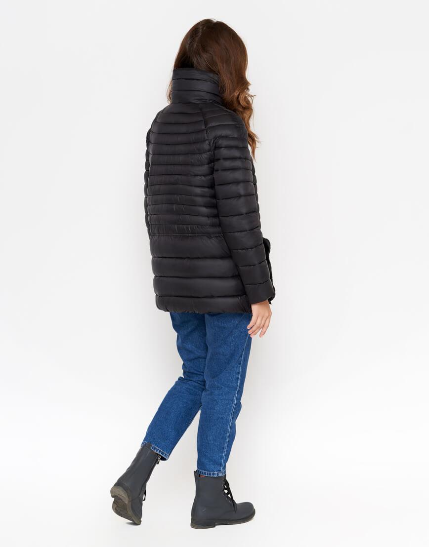 Куртка черная женская брендовая модель 842 фото 3