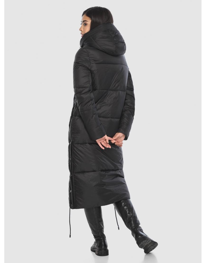 Модная куртка чёрная подростковая Moc на зиму M6874 фото 4