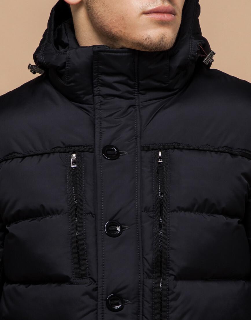 Черная мужская зимняя куртка модель 31610 оптом