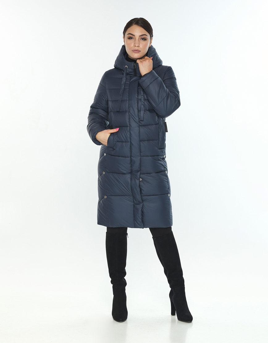 Куртка комфортная женская Wild Club цвет синий 541-94 фото 1