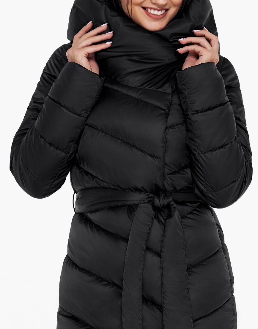 Черный воздуховик Braggart женский на зиму модель 31016 оптом