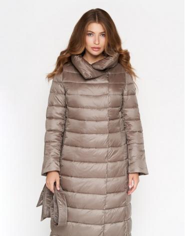 Куртка женская цвета капучино модель 848