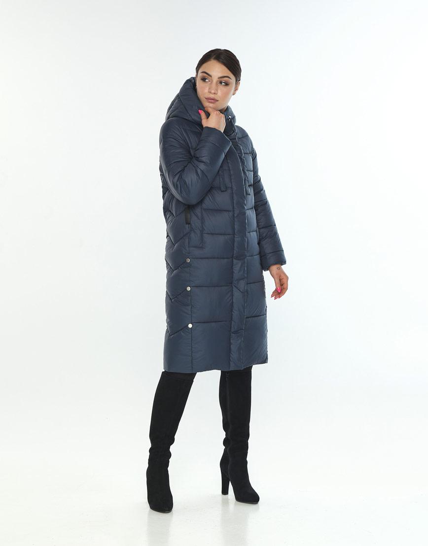Куртка комфортная женская Wild Club цвет синий 541-94 фото 2