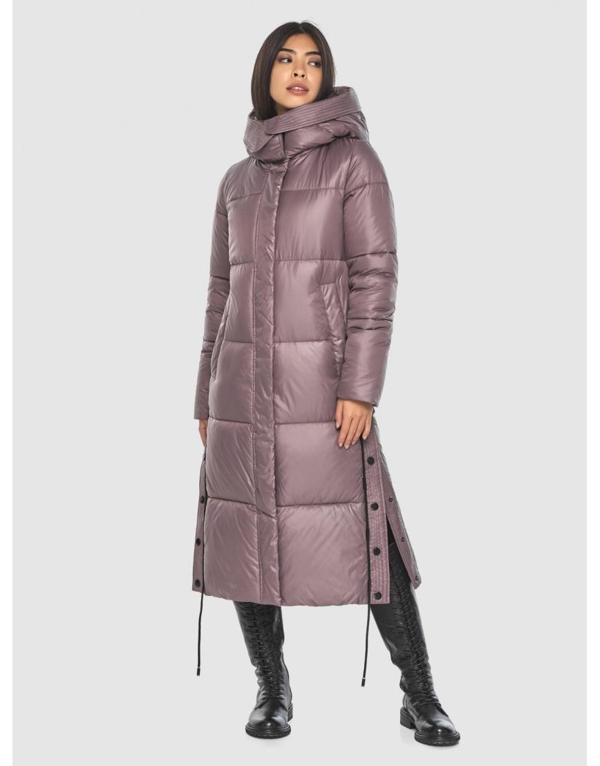 Пудровая зимняя курточка Moc модная для подростка-девушки M6874 фото 1