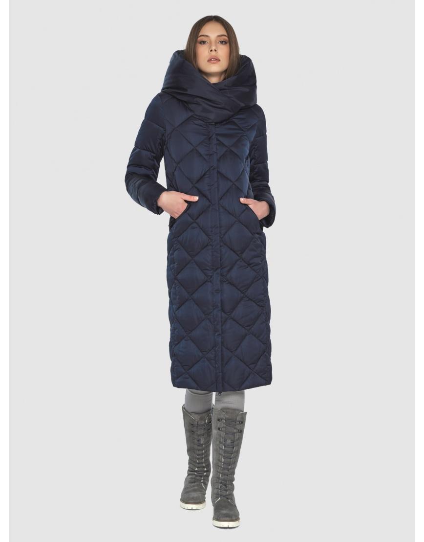 Синяя куртка женская модная Wild Club 594-37 фото 1