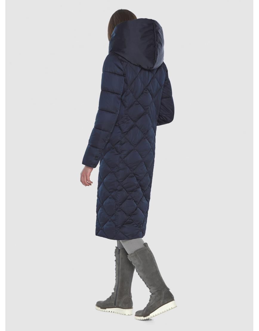 Синяя куртка женская модная Wild Club 594-37 фото 5