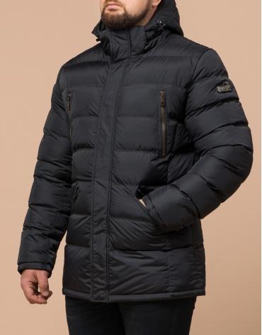Куртка графитовая большого размера модная модель 12952 фото 1