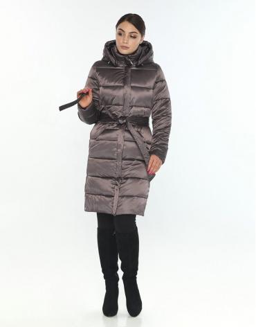 Женская модная куртка Wild Club капучиновая 584-52 фото 1