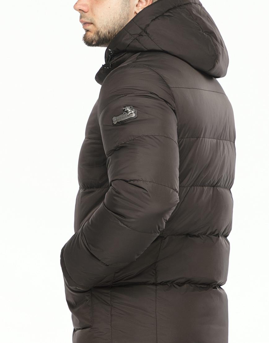 Куртка мужская высокого качества цвет шоколад модель 27544 фото 6