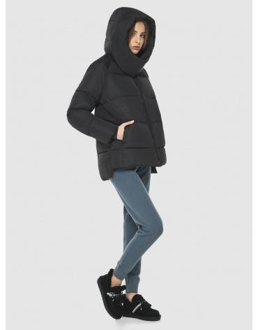 Комфортная чёрная куртка Vivacana женская 7354/21 фото 1