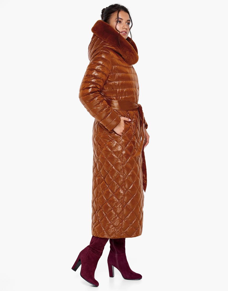 Женский воздуховик Braggart зимний цвет сиена модель 31012 оптом
