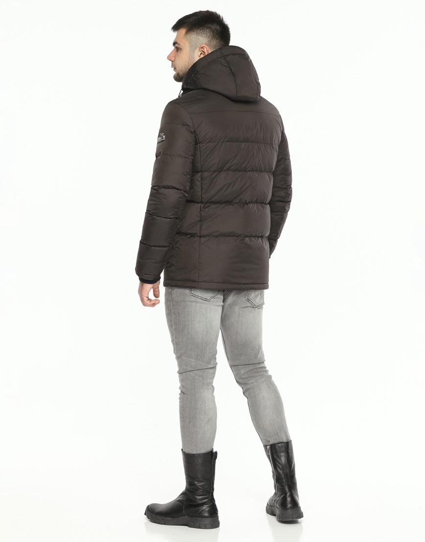 Куртка мужская высокого качества цвет шоколад модель 27544 фото 4