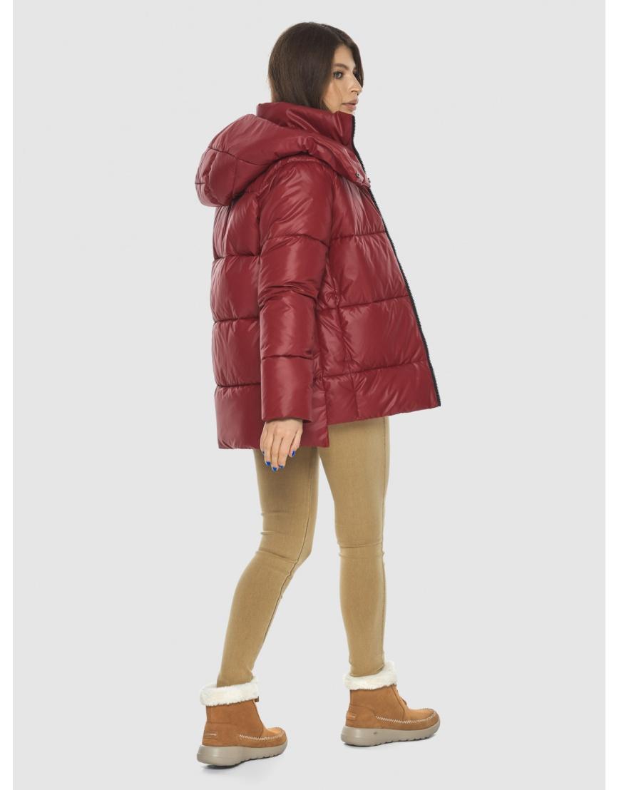 Красная куртка Ajento подростковая фирменная 22430 фото 4