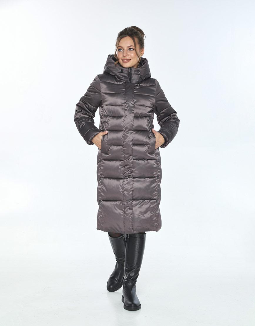 Куртка фирменная женская Ajento зимняя капучиновая 22975 фото 1