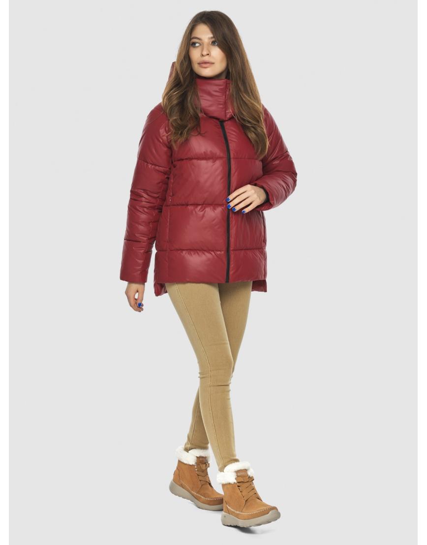Красная куртка Ajento подростковая фирменная 22430 фото 1
