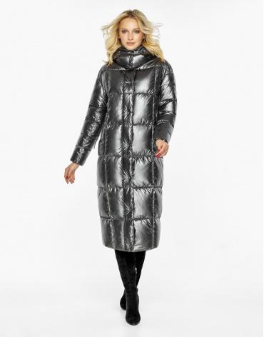 Воздуховик Braggart женский практичный зимний цвет темное серебро модель 42830 фото 1
