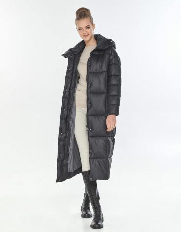 Куртка большого размера трендовая женская Tiger Force чёрная TF-50247 фото 1