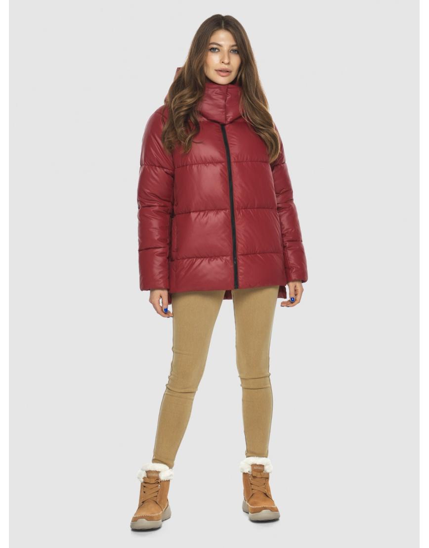 Красная куртка Ajento подростковая фирменная 22430 фото 6