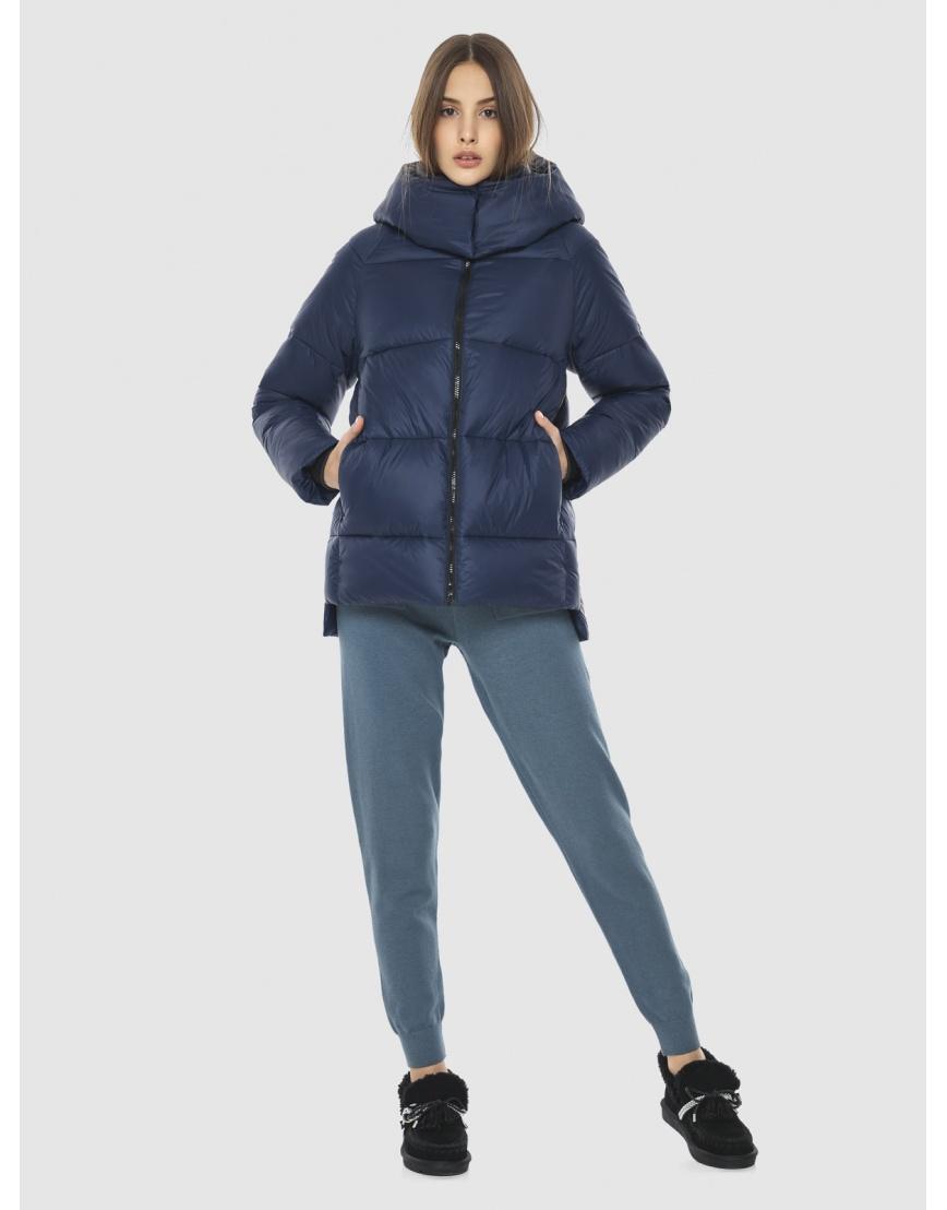 Куртка короткая синяя женская Vivacana 7354/21 фото 2