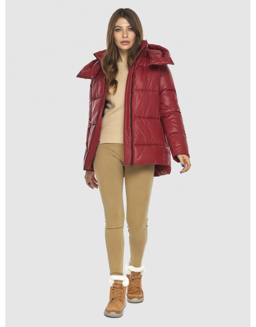 Красная куртка Ajento подростковая фирменная 22430 фото 2
