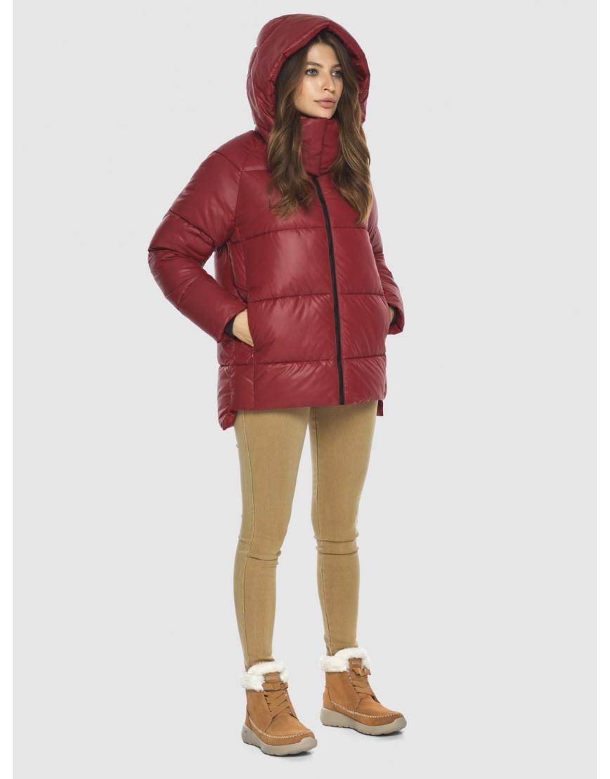 Красная куртка Ajento подростковая фирменная 22430 фото 3