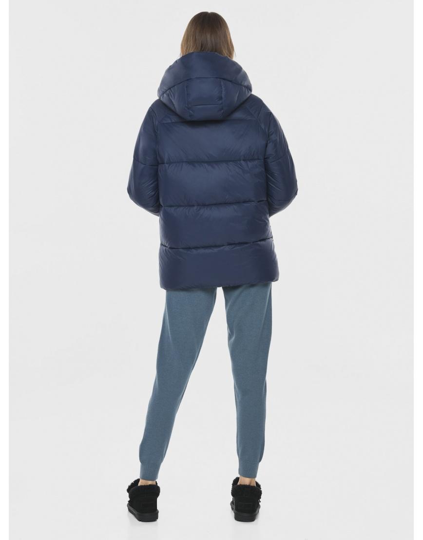 Куртка короткая синяя женская Vivacana 7354/21 фото 4
