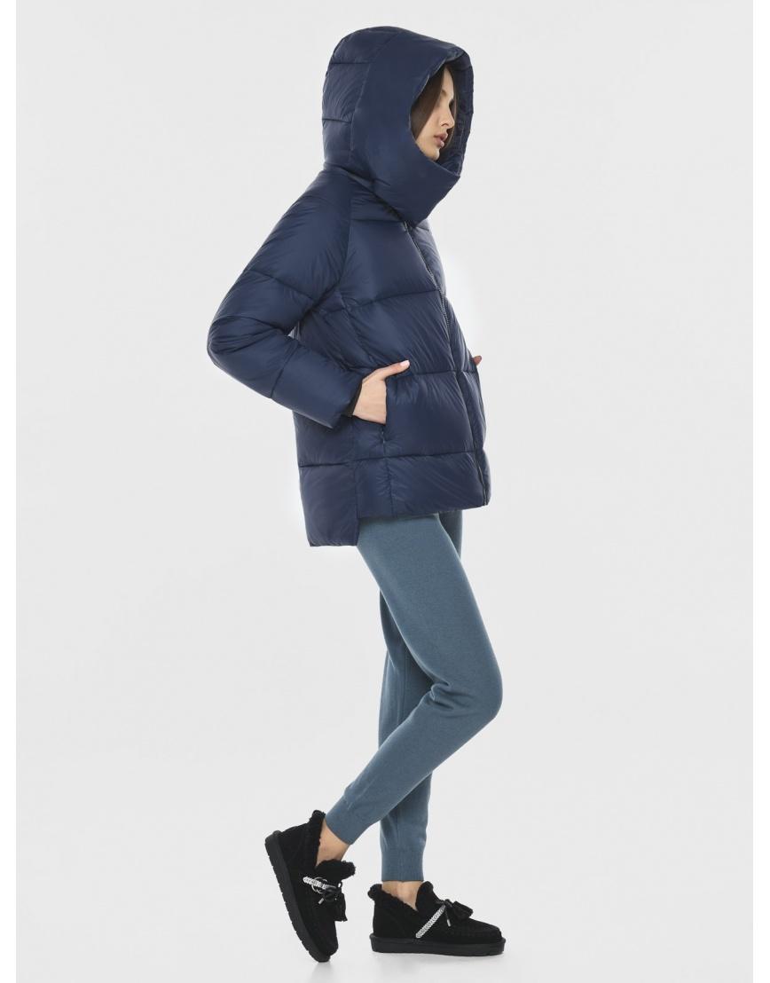 Куртка короткая синяя женская Vivacana 7354/21 фото 5
