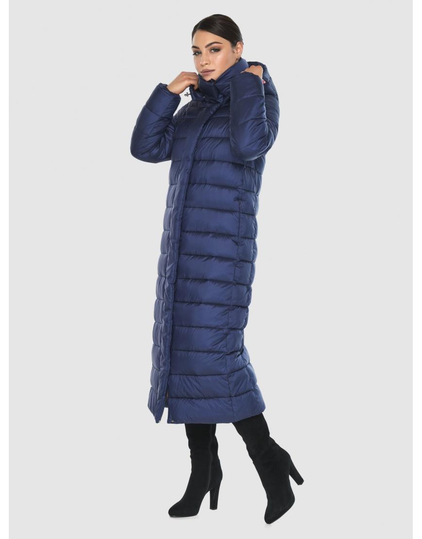 Женская современная синяя куртка Wild Club 524-65 фото 2
