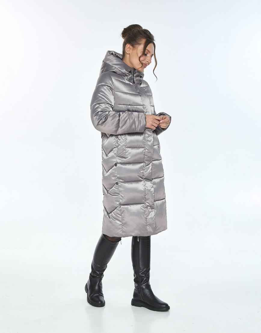 Зимняя кварцевая куртка женская Ajento комфортная 22975 фото 2