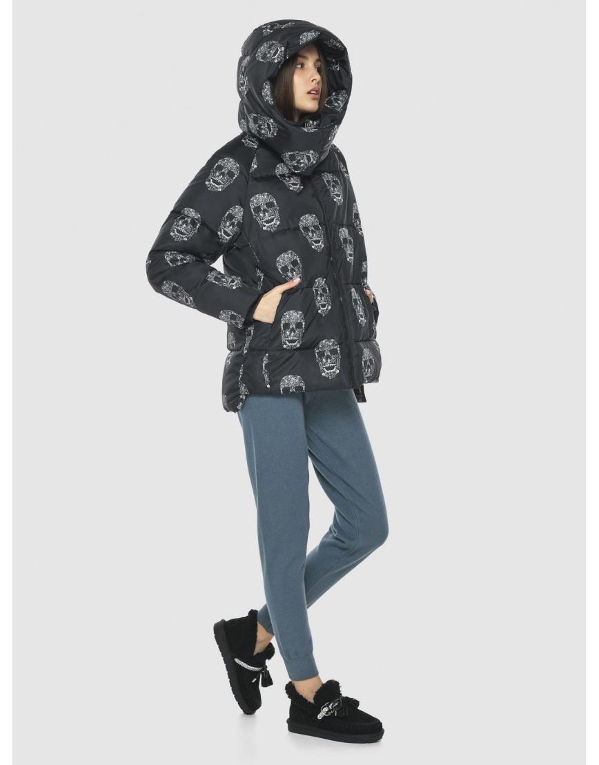 Брендовая куртка Vivacana женская с рисунком 7354/21 фото 3