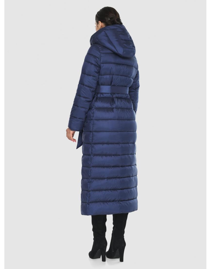 Женская современная синяя куртка Wild Club 524-65 фото 4