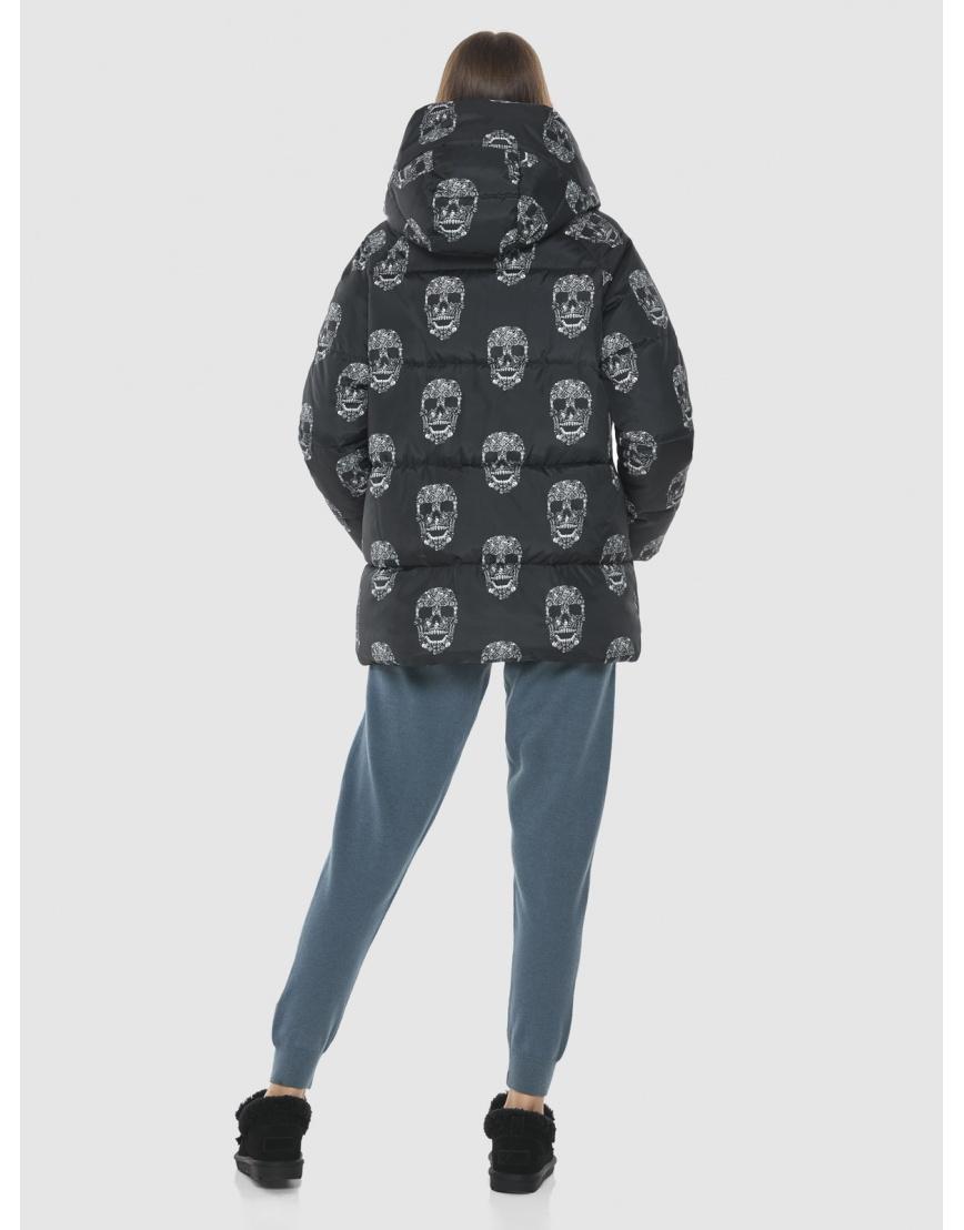Брендовая куртка Vivacana женская с рисунком 7354/21 фото 4