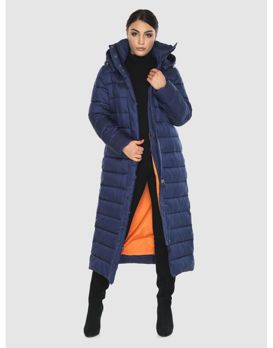 Женская современная синяя куртка Wild Club 524-65 фото 6