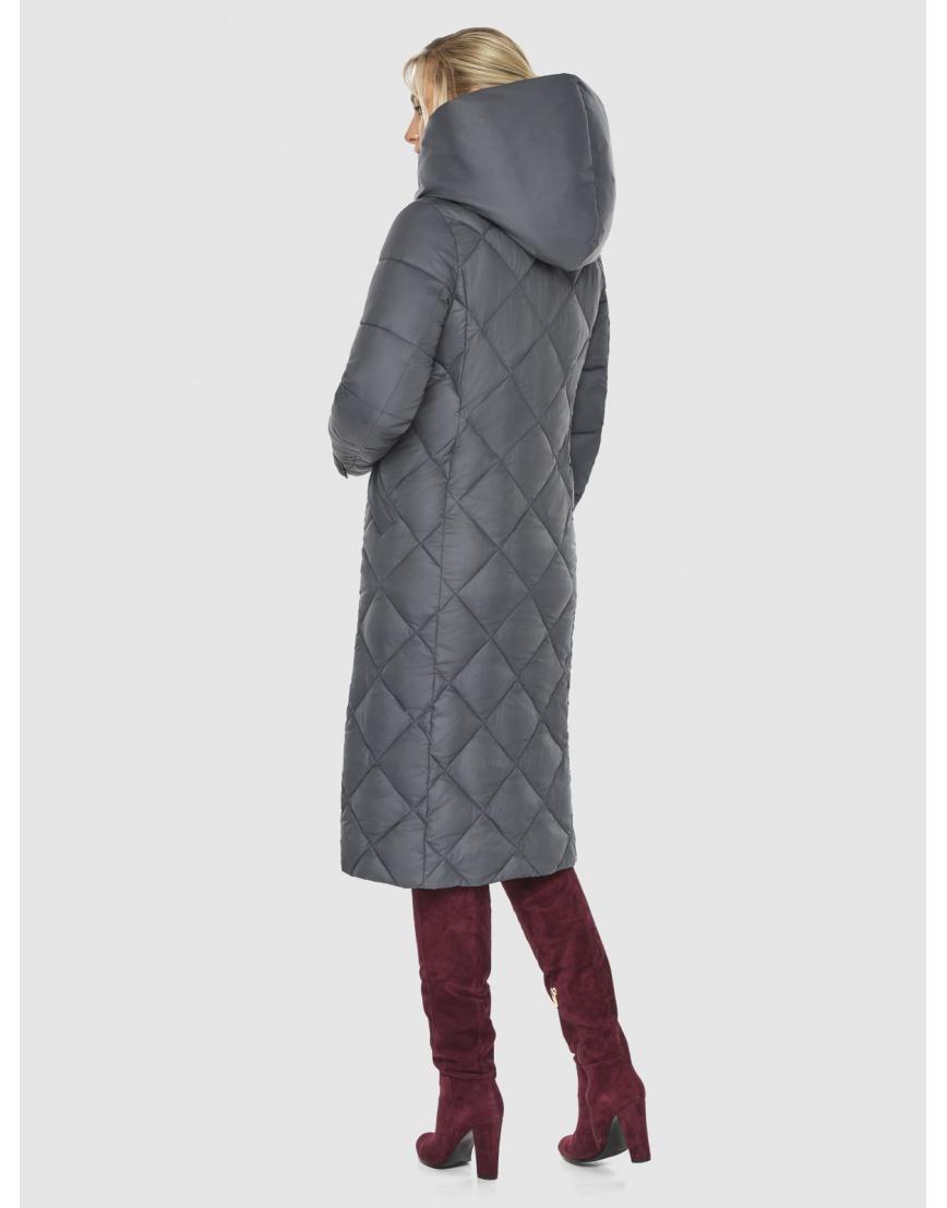 Серая куртка Kiro Tokao стёганая женская 60074 фото 4