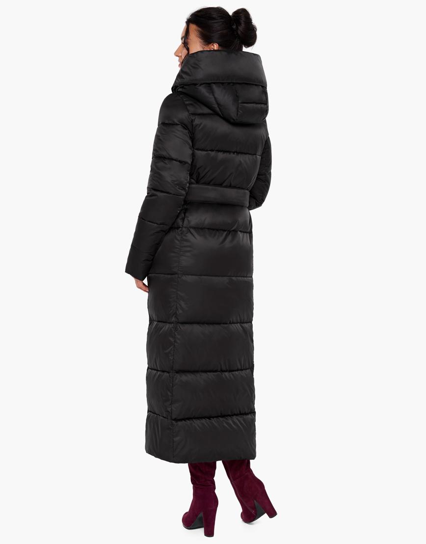Воздуховик Braggart женский черного цвета теплый на зиму модель 31056